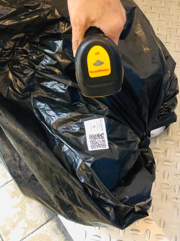 we are rolling out the next phase, which uses QR code labels on the trash bags in offices so that the performance can been tracked even more accurately.